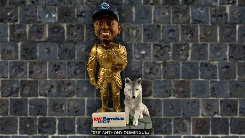 Lakewood BlueClaws Seven Kingdoms of Claws Night Dominguez Bobblehead