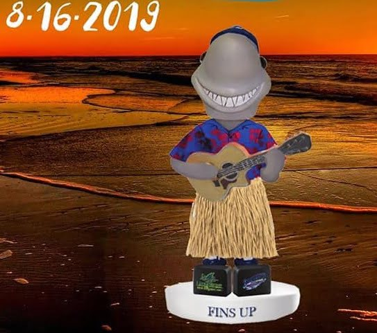 Pensacola Blue Wahoos Margaritaville Night Bobblehead