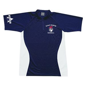 Rome Braves Quarter Zip Polo