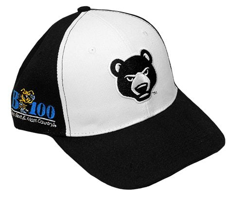 South Bend Cubs Black and White Hat