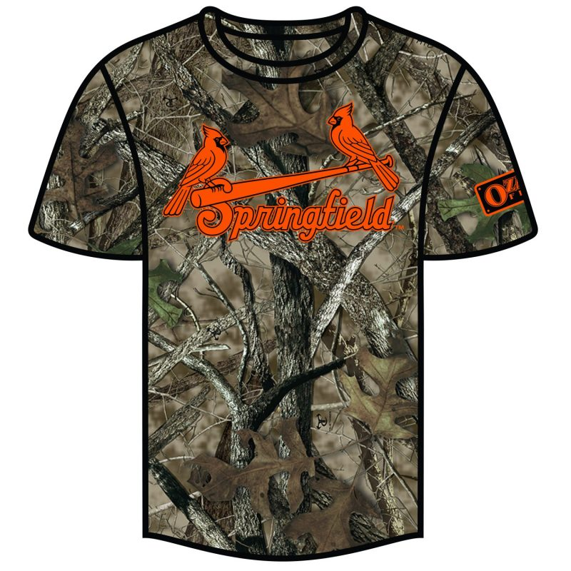 Springfield Cardinals Camouflage Dry Fit Shirt