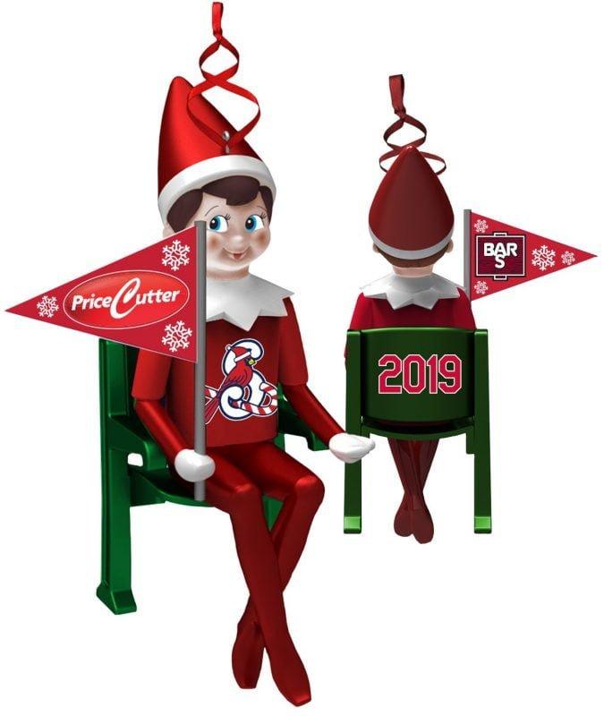Springfield Cardinals Elf on the Shelf