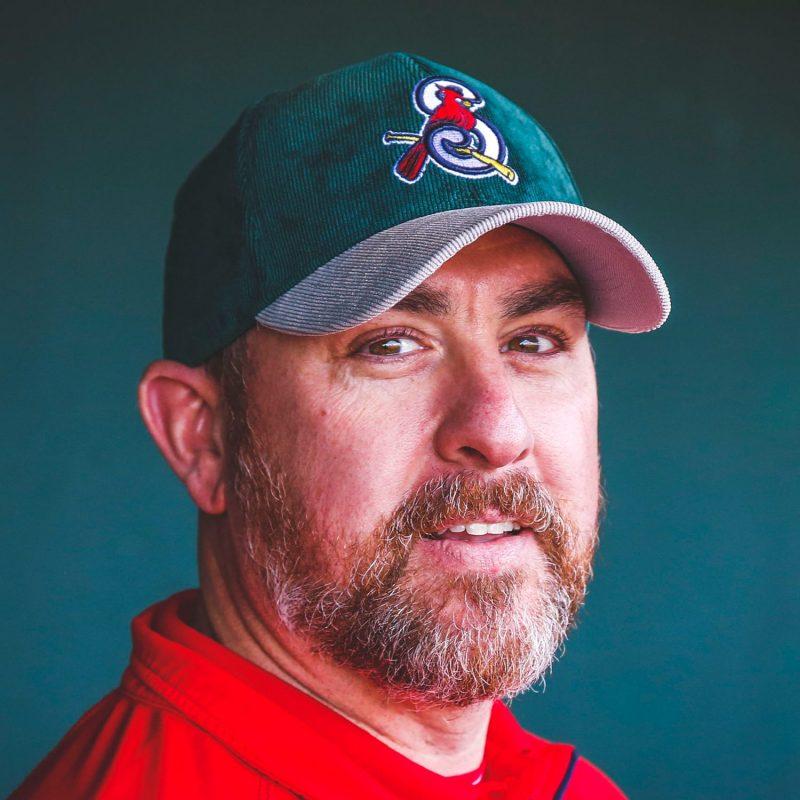 Springfield Cardinals Ozarks Green Corduroy Cap