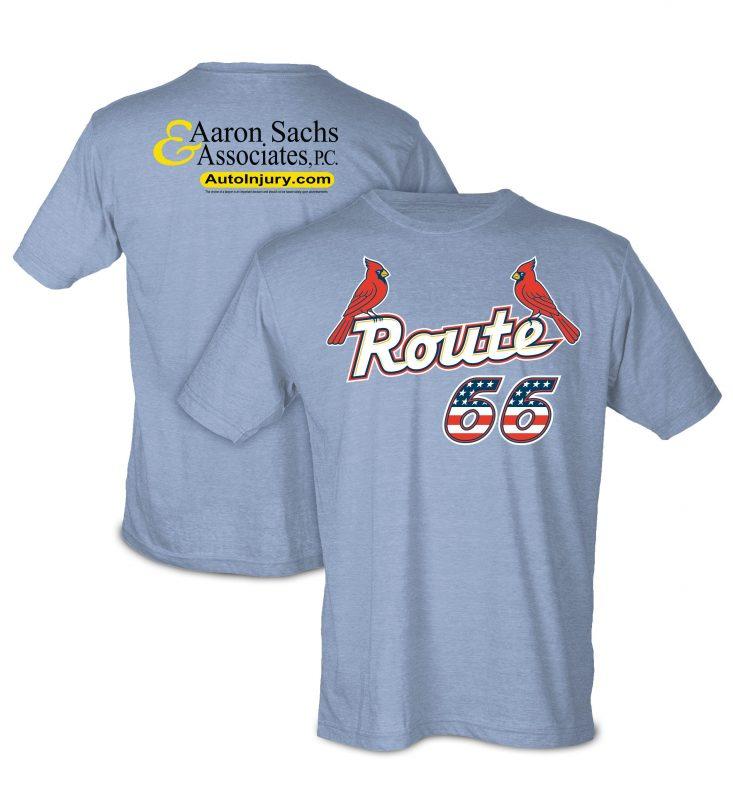 Springfield Cardinals Route 66 Super-Soft T-Shirt