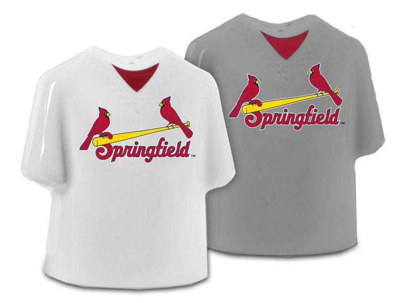 Springfield Cardinals Salt & Pepper Jersey Shakers