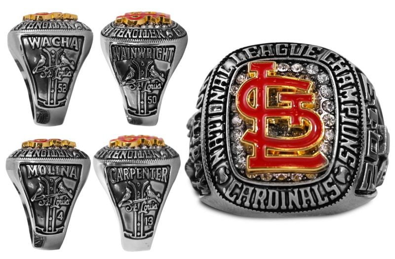 St. Louis Cardinals 2013 N.L. Championship Mystery Ring