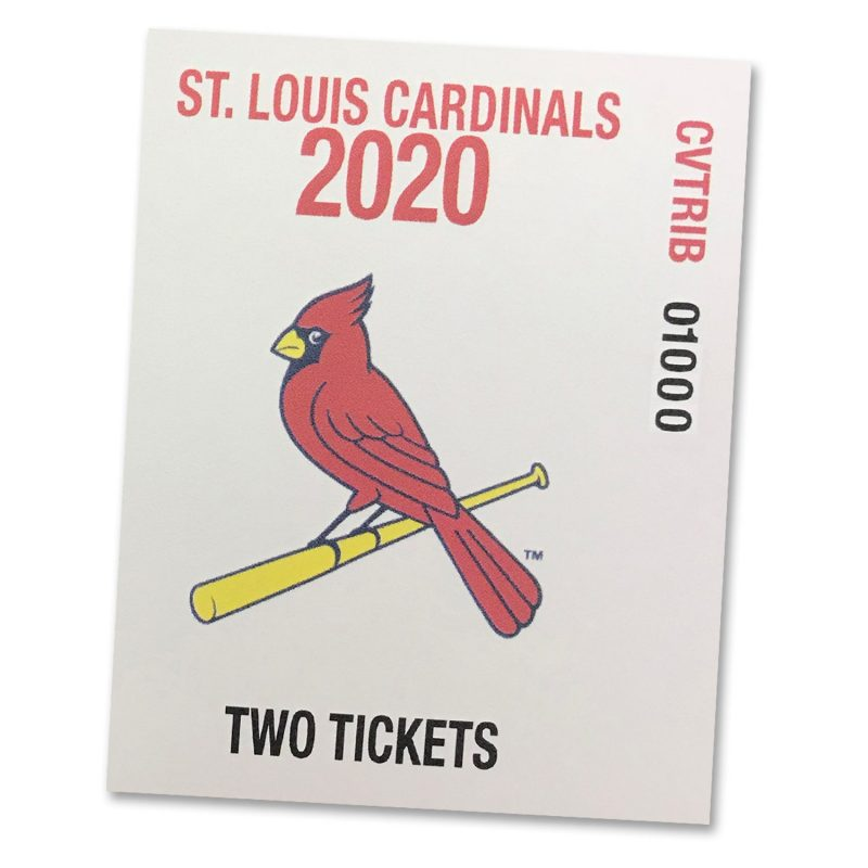 St. Louis Cardinals 2020 Ticket-for-Two Voucher