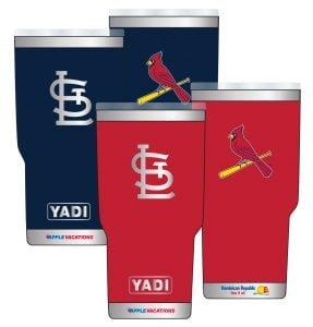 "St. Louis Cardinals ""YADI"" Tumbler"