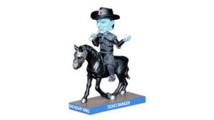 The Knight King Texas Rangers Bobblehead