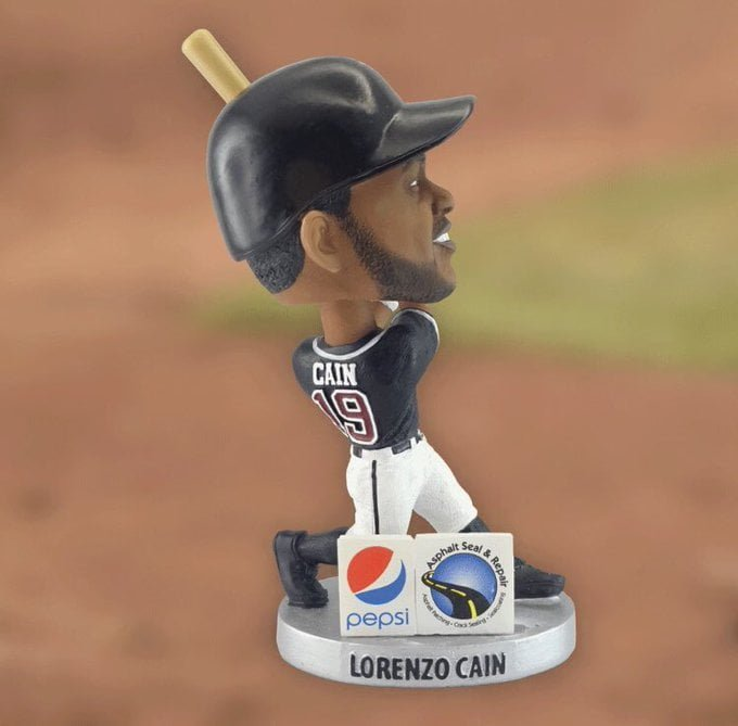 Wisconsin Timber Rattlers Lorenzo Cain Bobblehead