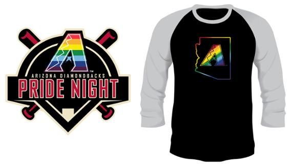 Arizona Diamondbacks - D-backs Pride Shirt