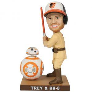Orioles - Trey & BB-8 Bobblehead
