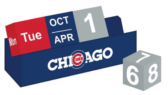 Cubs - Calendar Blocks