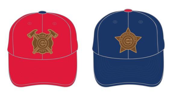 Cubs - Law Enforcement and Firefighter Appreciation Cap