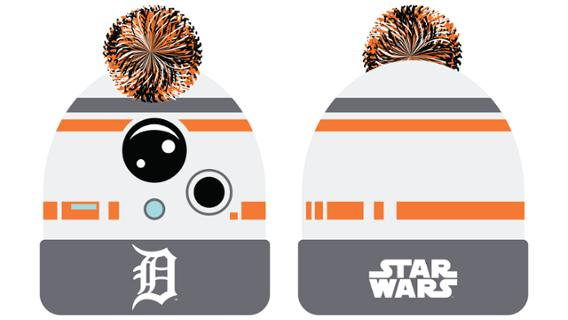 Detroit Tigers - BB-8 beanie