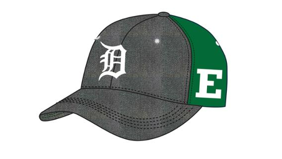 Tigers - Eastern Michigan University Cap