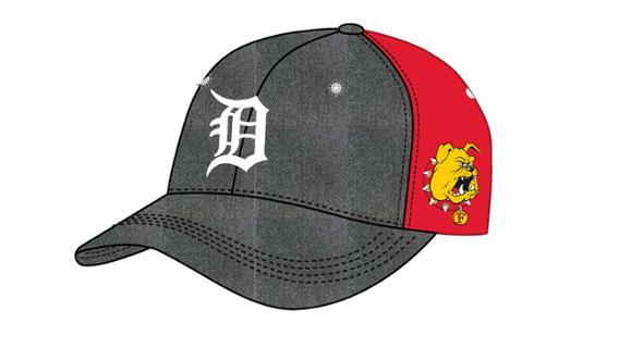 Detroit Tigers - Ferris State Cap