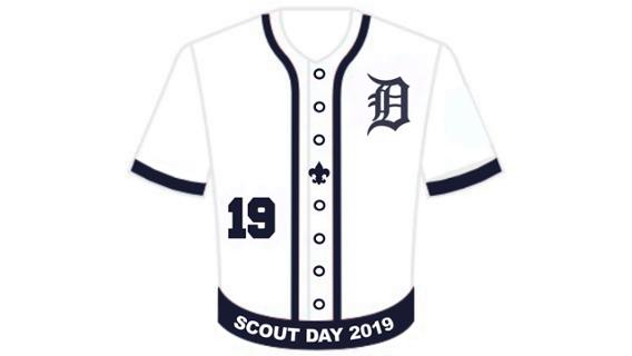 Tigers Scouts Patch