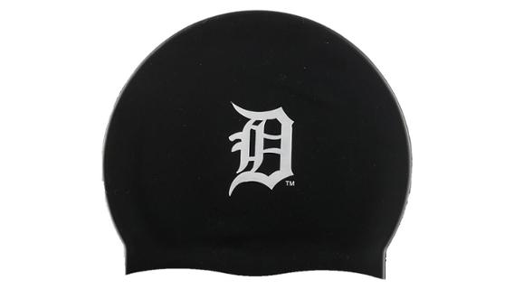 Detroit Tigers branded swim cap