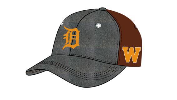 Detroit Tigers/WMU hat