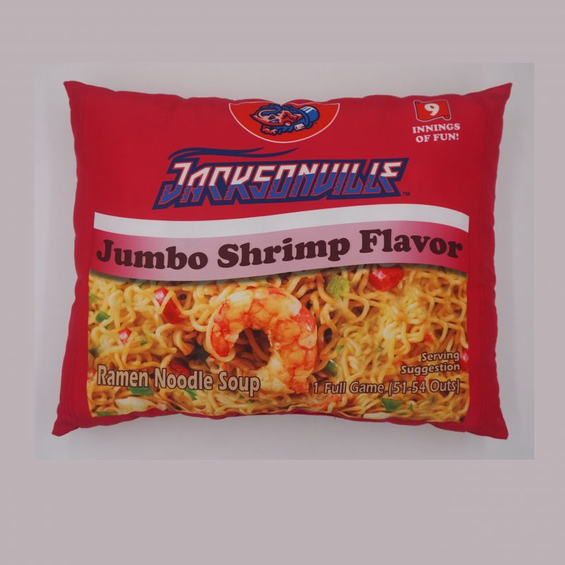 Jumbo Shrimp Flavor ramen noodles