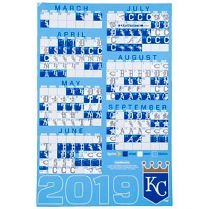 Royals - Magnetic Schedule