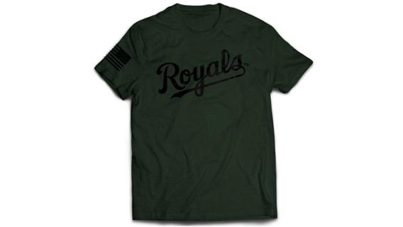 Royals - Military Salute Shirt