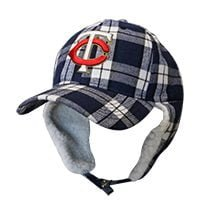 Twins - Plaid Flap Cap