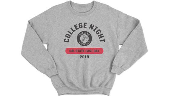Athletics - Cal State East Bay Night Sweatshirt