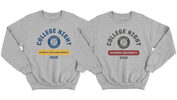 Cal vs. Stanford Night Sweatshirt