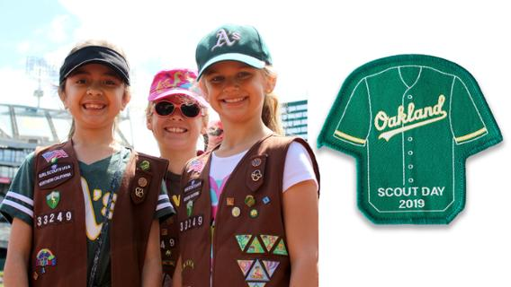 Athletics - Scout Day Patch
