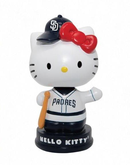 Padres - Hello Kitty Bobblehead