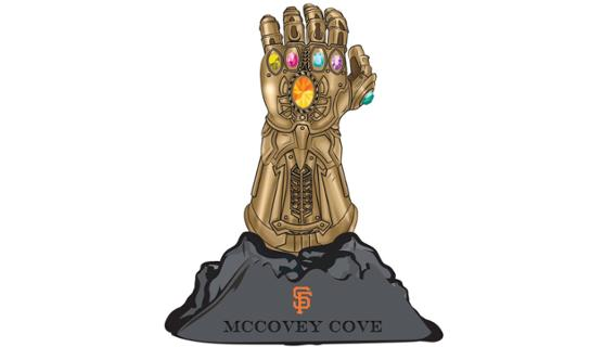 Infinity Stones Gauntlet McCovey Cove