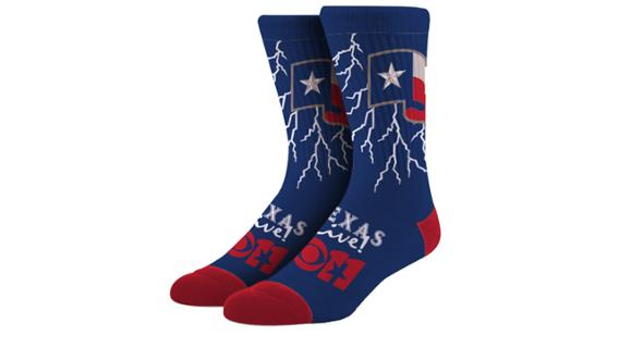 Rangers - Weather Day Socks