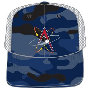 Albuquerque Isotopes Camo Hats