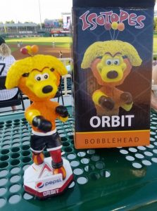 Albuquerque Isotopes Orbit MMA Bobbleheads