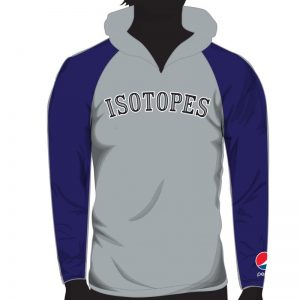 Albuquerque Isotopes Raglan Hoodies