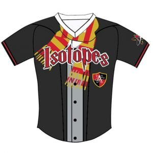 Albuquerque Isotopes Youth Jerseys 4-19-2019