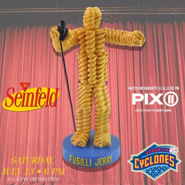 Brooklyn Cyclones-Fusilli Jerry Figurine