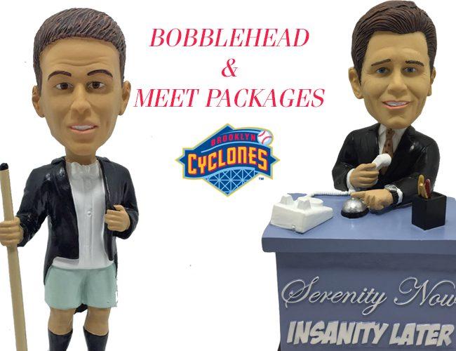 Brooklyn Cyclones - Lloyd Braun Bobblehead & Maestro Bobblehead