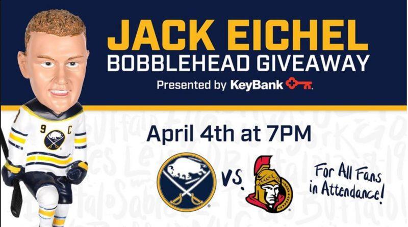 Buffalo Sabres - Jack Eichel Bobblehead