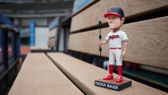 Cleveland Indians Trevor Bauer Bobblehead
