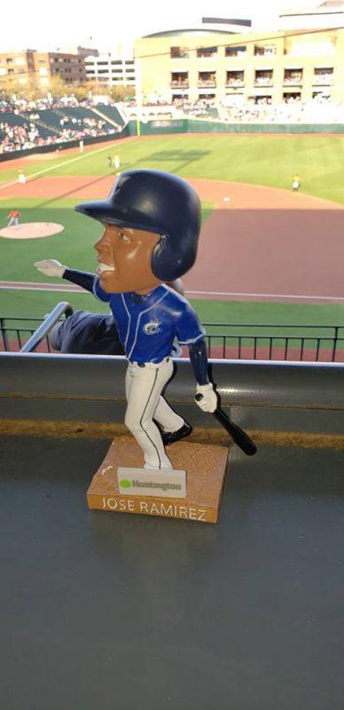 Clippers Jose Ramirez Bobblehead