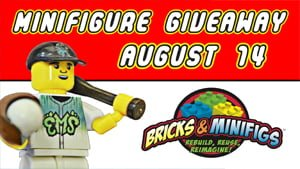 Eugene Emeralds Minifigure