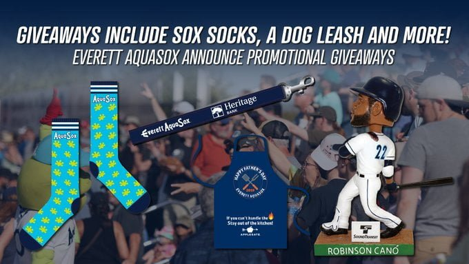 Everett AquaSox 2019 Promos