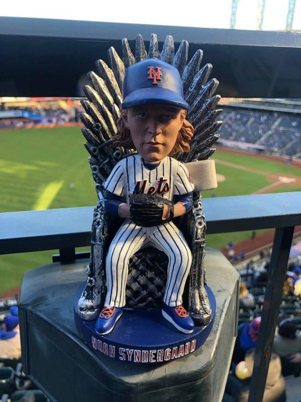 Mets - Game of Thrones Noah Syndergaard Bobblehead