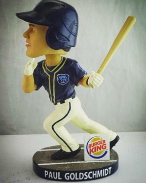 Mobile Baybears Paul Goldsschmidt Bobblehead
