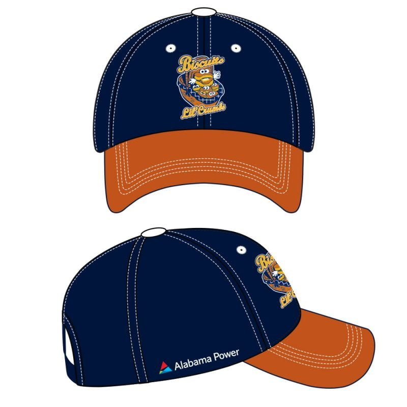 Montgomery Biscuits Lil' Crumbs Dress Like a Player Hat