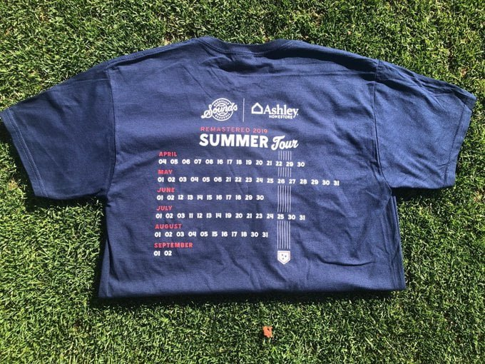 Nashville Sounds Summer Tour Shirt
