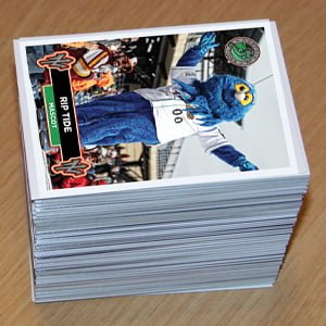 Norfolk Tides Baseball Cards Set